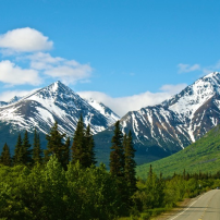 Yukon Mountain Scene