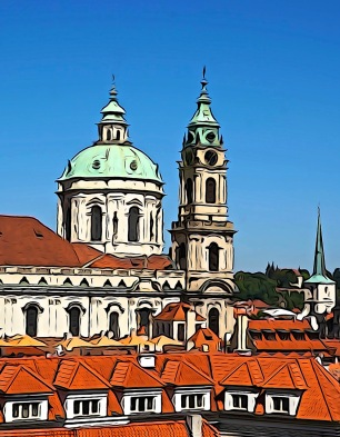 Church of St. Nicholas - Mala, Strana Square, Prague, Czech Republic